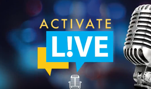 Activate Live You Tube greeting page