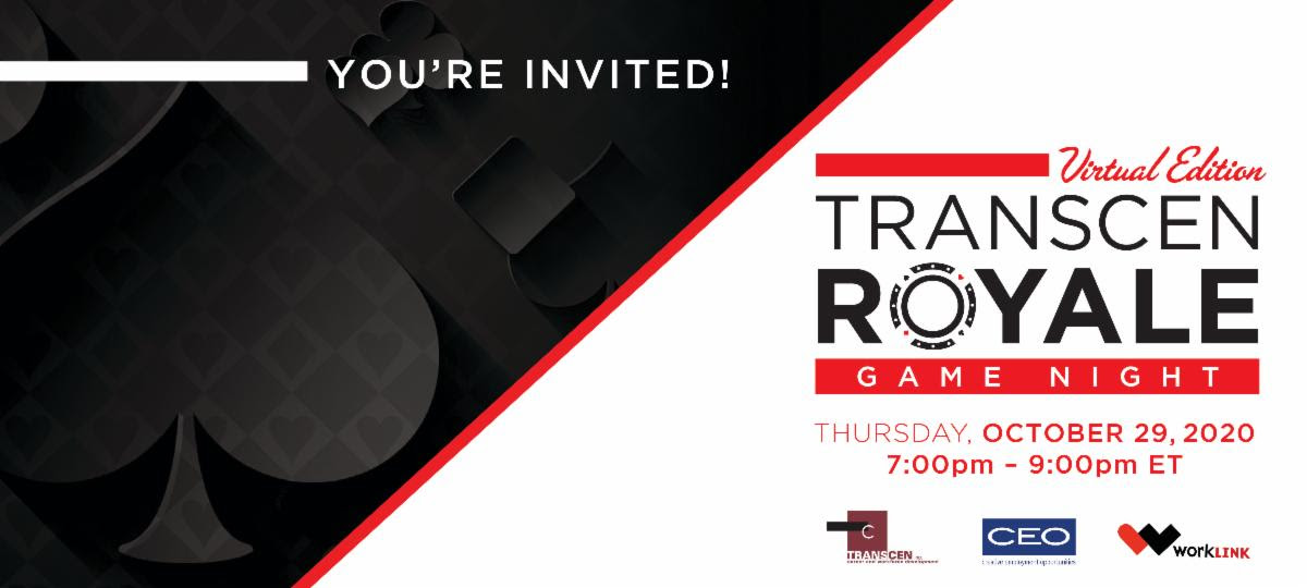 You're invited! TransCen Royale Virtual edition game night!