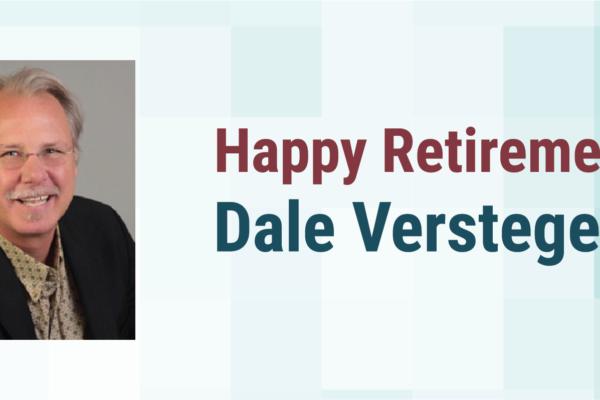 Happy Retirement Dale Verstegen